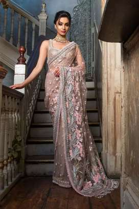 Saree collection velevt collection and party wear of all brands