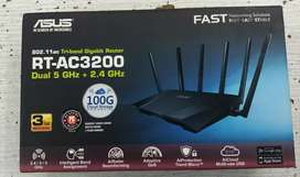 RT-AC3200 Tri-Band Gigabit WiFi Router/3200Mbps