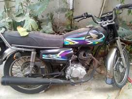 Honda 125  bahawalnagar registration,1986 model reconditioned