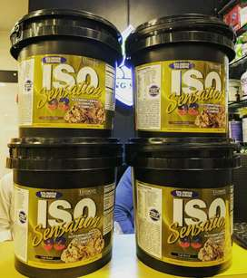 Ultimate Nutrition Iso Sensation 93 Isi 5lb BPOM Whey Isolate.