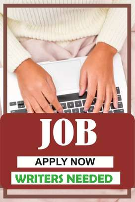 Best easy writing job for any one