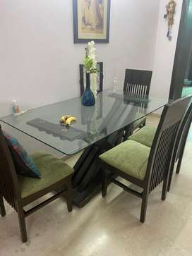 Dining set with 5 chairs
