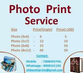 Photo Print Service