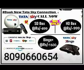 BRAND NEW TATA SKY HD CONNECTION @999