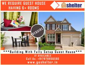 Require Guest House Fully furnished