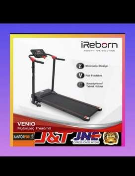 Treadmill elektrik murah promo alat fitnes gym