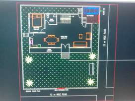 AutoCAD dwg. Civil, mech.hvac,piping been done,charge per sheet size