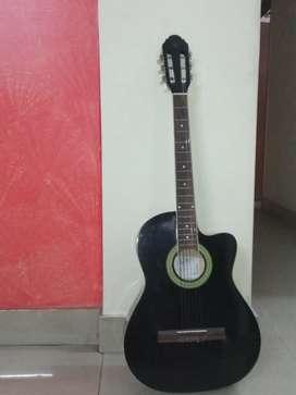 Black guitar for Beginners