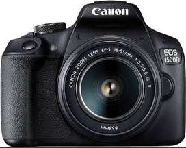 Canon 1500D 1year limited warranty