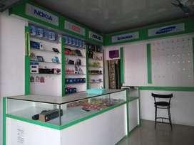 Full furnushed mobile shop