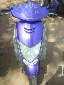Honda Dio 2011 Purple colour.