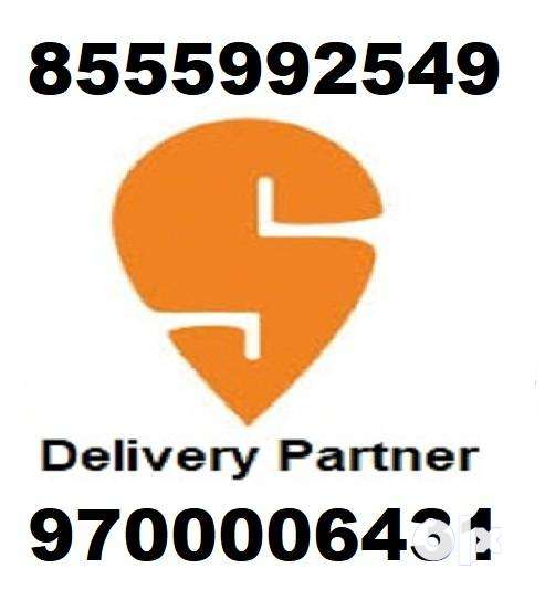 Wanted Swiggy Delivery partner joining bonus 5000 0