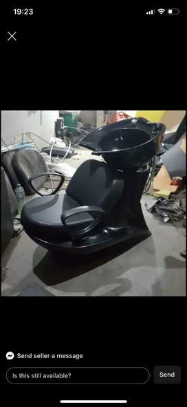 Parlour saloon Chairs Fectory,  shampoo unit mani and pedicure,