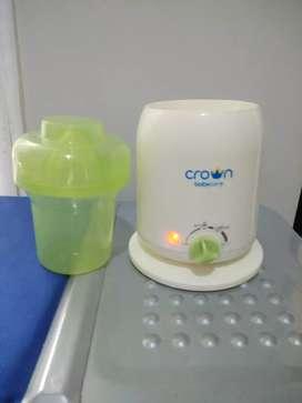Pemanas Botol Bayi Crown