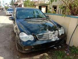 Mercedes-Benz C-Class 2004 black color