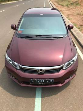 Civic FB 1.8 Matic LOW KM Red Pearl 2013