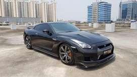 Nissan GTR R35 black 2008