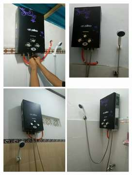 Ready stock water heater gas