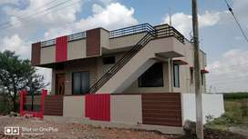 2 bhk ready to move house with all the amenities and superior fittings