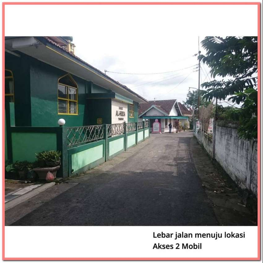 Bangun Rumah Hemat 200Jt: Tanah Area Sleman, Dekat Candi Prambanan