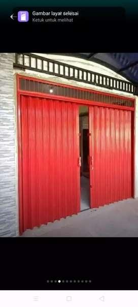 Folding gate & roling door murah