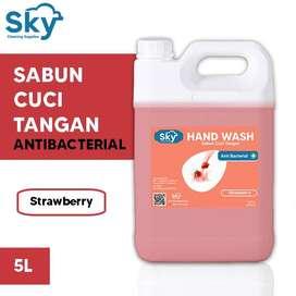 Sabun Cuci Tangan Premium (Hand Wash Soap) Sky 5L