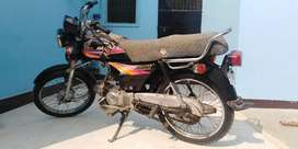 Honda CD70 2009 (Genuine condition)
