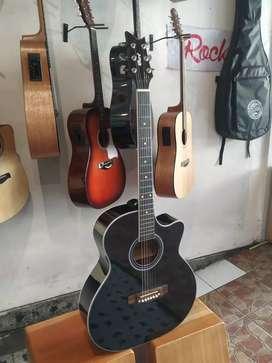 Gitar Akustik cort tanam besi bonus softcase