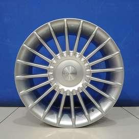 Velg Mobil HSR Wheel Ring 15 Model ACTIVE H4X100/114,3 Silver