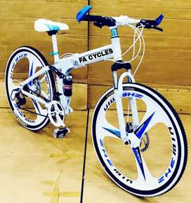 NEW FOLDING CYCLE AVAILABLE IN 21 GEARS SPEED