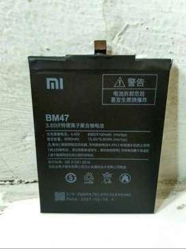 Baterai Xiaomi Redmi 4x Redmi 3 Redmi 3s BM47