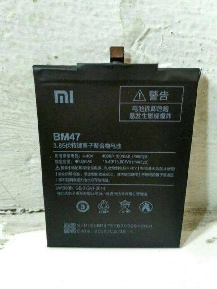Baterai Xiaomi Redmi 4x Redmi 3 Redmi 3s BM47 sudah sekalian pasang 0