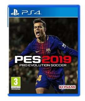 Pes 2019 ps4 digital game full update 2020
