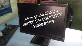 A+++ grade Dell hp 22in lcd  rs5500 SAi computer