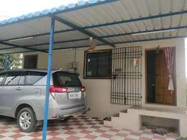 Indipendent house with 13000 sq ft empty area,withcompound wall