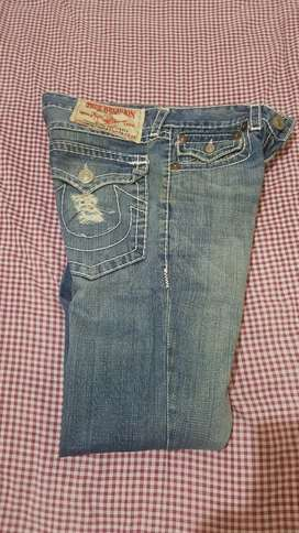 Celana jeans TRUE RELIGION original USA  sec. JOE SUPER T  size 30