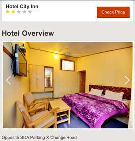 Guest house Rooms on monthly basis