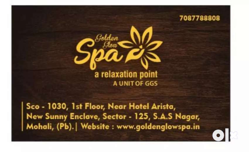 Golden Glow Spa & body Massages centre 0