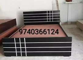Assam teak wood double cot in affordable price