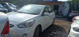 Hyundai Verna Fluidic 1.6 CRDi SX AT, 2012, Diesel