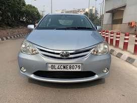 Toyota Etios 1.5 V, 2011, Petrol