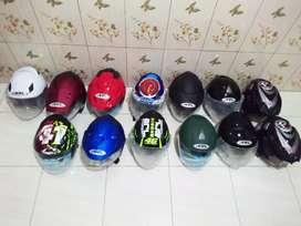 Helm merk ARL Double visor