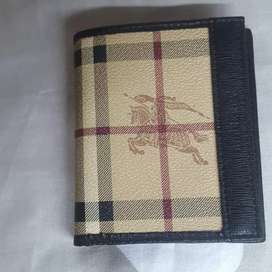 NEW BURBERRY print UNISEX PURSE