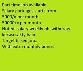 Passionate Staff Required for Online task