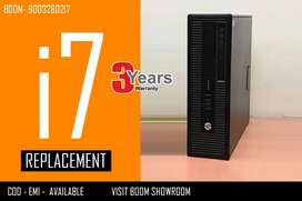 BRANDED HP CPU I7 ( Warranty with Bill ) home delivery Available