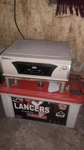 Inverter  battery 7000 rs good condition
