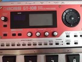 Boss GT-10B bass processor mint condition