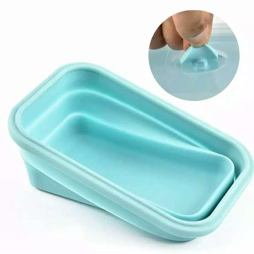 Kotak Makan Lipat , praktis & aman 0
