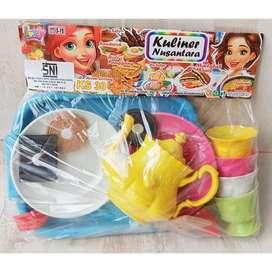 Tea Set Mainan Teko Set Nampan KS 30