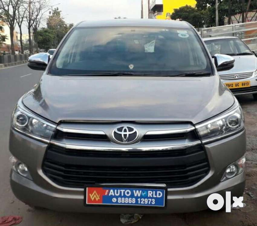 Toyota INNOVA CRYSTA 2.4 VX MT 8S, 2017, Diesel 0